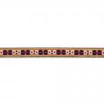 Kodavere muster, rahvuslikel motiividel dekoratiivpael / laiusega 10mm