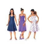Kleit 122- 164cm / Dress Burda 9697