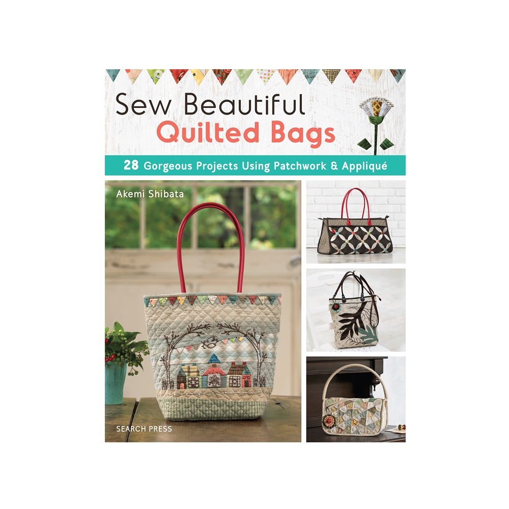 "Raamat ""Sew Beautiful Quilted Bags"""