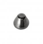 Metallist, koonusekujuline, õmmeldav neet, 14x11mm