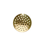 Ümar sõelataoline prossialuse / Perforated Round Pin-On Brooch Base / 26mm