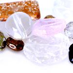 Pärlisegu Erivärvilistest erikujulistest ülisuurtest pärlitest 10-35mm, 100/50g pakk