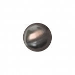 Plastic metallic button with shank 13mm, (21L)
