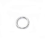 925 Hõbedast ühendusrõngas / 925 Silver Jump Ring / 5,2 x 0,8mm