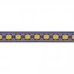 Rahvuslikel motiividel dekoratiivpael / laiusega 15mm