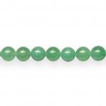 Ümarad, naturaalsest rohelisest aventuriinist 10mm helmed