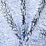Säbruline lambanahataoline kunstkarusnahk, 145cm, 130.451