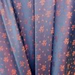 Pidulik, kauni läikega, kerge reljeefse lillemustriga kostüümikangas 620167; 138cm