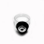 Lahtikruvitav sõrmusetoorik Pandora tüüpi helmestele / 18mm