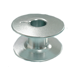Alumiiniumpool koduõmblusmasinale nn. `kõrvaga` poolipesasse / Aluminium Bobbin for Home Sewing Machines
