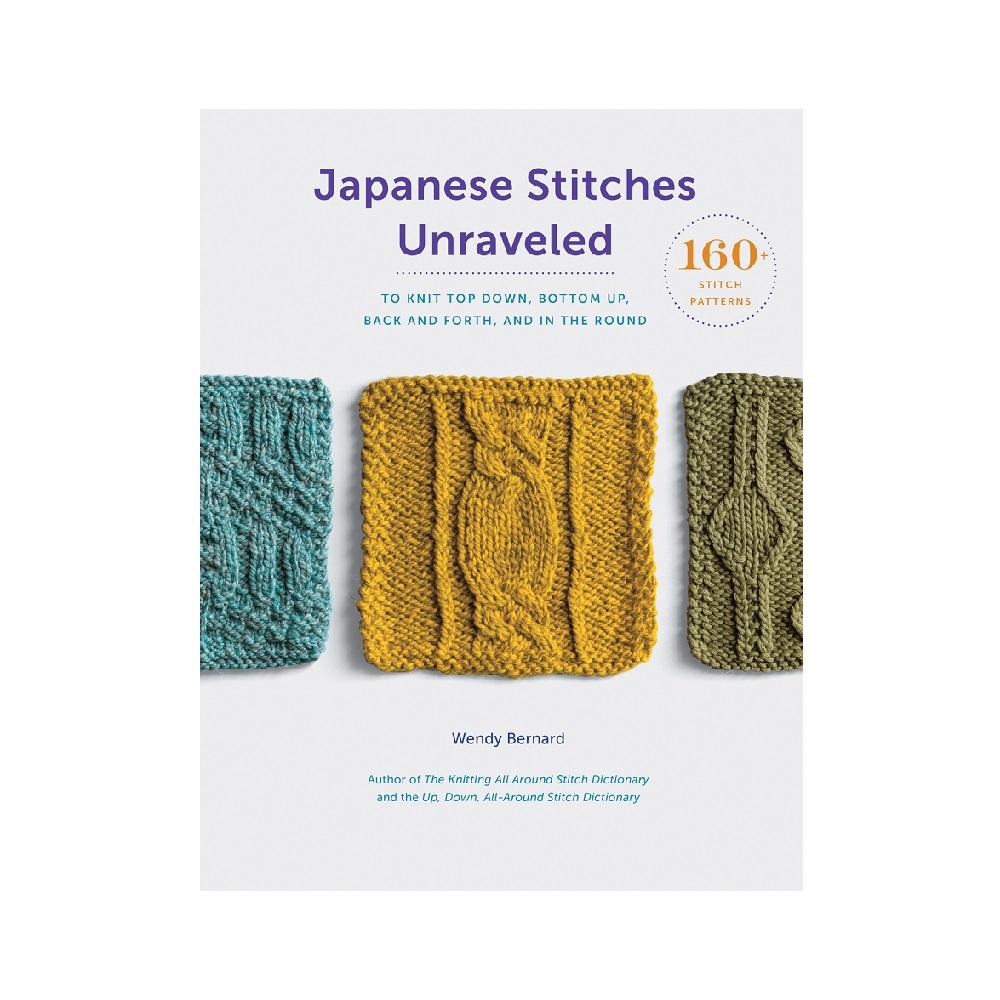 Raamat `Japanese Stitches Unraveled`