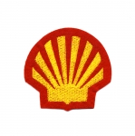 Triigitav Aplikatsioon; `Shell` / Embroidered Iron-On Patch /7x6,5cm
