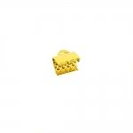 Otsakinnis, paelaotsik (nahkpaela kinnitus)/ Cord End C-Crimp, Dimple Pattern/ 8mm