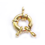 Rounded Jewellery Clasp / 13mm