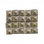 Kandilised tahulised triigitavad dekoratiivkivid 9mm, 20tk pakis