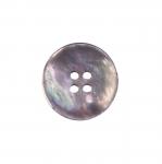 Teokarbist sileda pinnaga pärlmutter, nelja auguga nööp 25mm, 40L