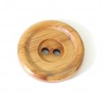 SB2 Naturaalne puitnööp, kahe auguga, läbimõõduga 45mm/70L