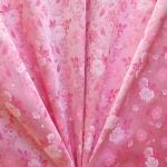 Pidulik, kauni läikega, kerge reljeefse lillemustriga kostüümikangas 501248; 168cm