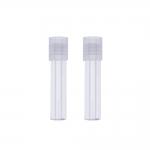 Purgid pärlite vms. hoiustamiseks, keeratava korgiga 2tk Clover/ Storage Cylinder / 6,5 x 1,5cm / 8211