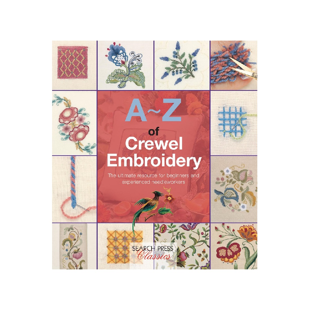Raamat `A-Z of Crewel Embroidery`
