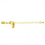 Kinnitusdetail karabiinhaagi, keti ja otstest nahkpaela kinnitustega / Jewellery Clasp with Chain / 13x6x4cm