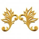 Triigitav ornament parempoolselt või vasakpoolselt joondatud 10,5x7cm