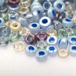 Erivärviliste terahelmeste segu suuruses 6-7mm