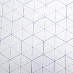 Tilkkutyön suunitteluarkki, vahvempi paperi, 42cm x 59cm