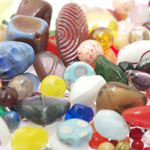 Pärlisegu Kirju eri suurusega pärlitest 5-20mm, 100/50g pakk