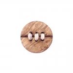 Naturaalne, nöörpunutistega, kannaga kookosnööp, 30mm, 48L