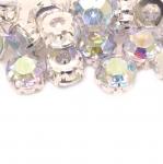 Tahulised klaashelmed metallümbrisega 10mm