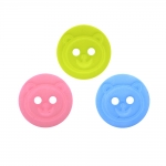 Plastic Shank Button, ø15 mm, size: 24L