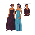 Pidulik kleit  146-176cm / Formal dress Burda 9760