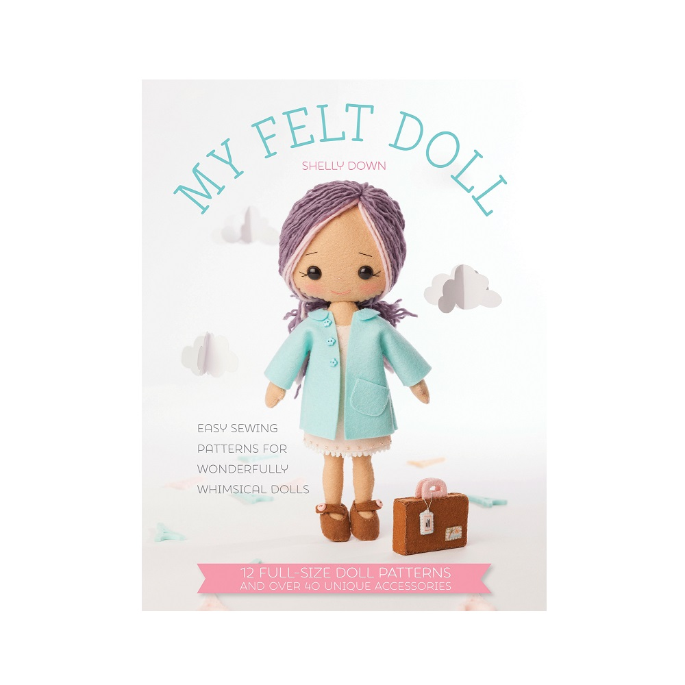 """Raamat """"My Felt Doll"""""""