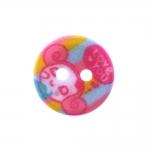 Plastic Button ø15 mm, size: 24L