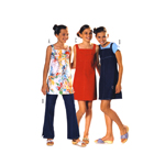 Kleit & püksid 122 - 164cm / Dress & pants/ Burda 9694