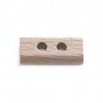 SB103 Lakitud puidust piklikud pöörad läbimõõduga 25x12mm