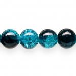 Läbipaistev ümar mõraline klaashelmes 12mm
