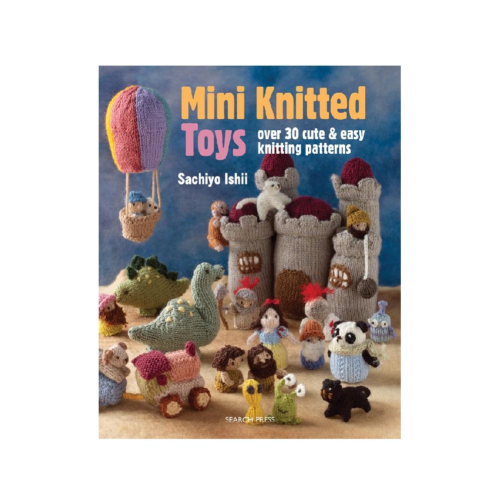 "Raamat ""Mini Knitted Toys"""