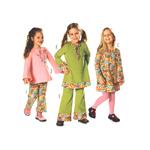 Kleit ja püksid 98 - 128cm / Dress & pants / Burda 9627