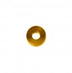 Metallrõngas kandilise vormiga, ühenduskohata (kinnine) 3x1mm
