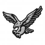 Triigitav Aplikatsioon; Tiibu laiutav kotkas/ Embroidered Iron-On Patch 8x6cm