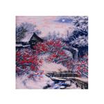 Наборы для вышивания нитками на канве с фоновым рисунком DM2114 Rowan Tree / НОВАЯ СЛОБОДА