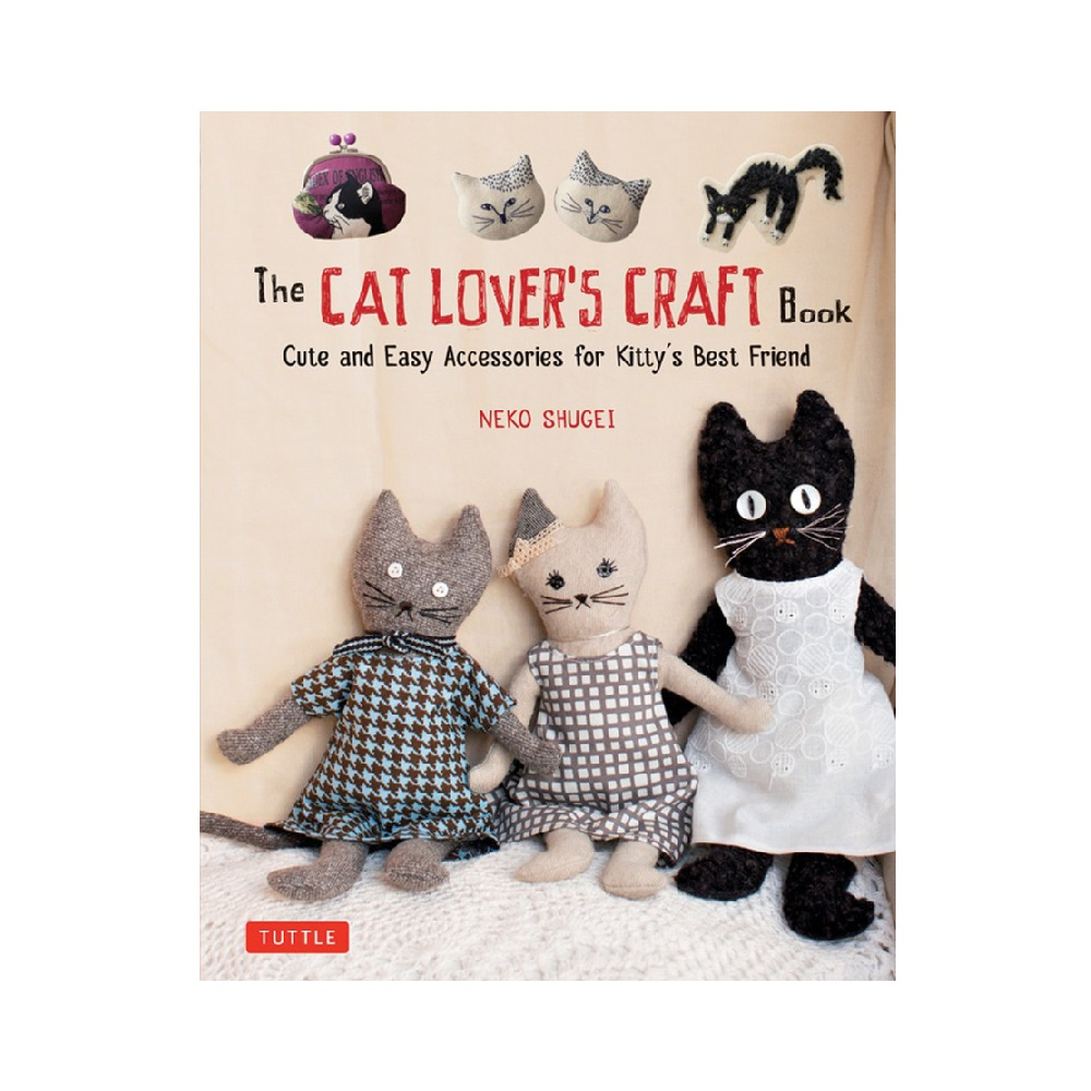 "Raamat ""The Cat Lover`s Craft Book"""