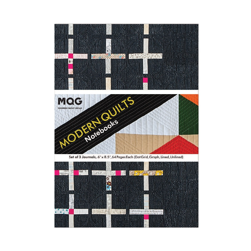 """Raamat """"Modern Quilts Notebooks"""""""