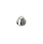 Metallist, koonusekujuline, õmmeldav neet, 7x6mm