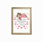 Cross-Stitch Kit RIOLIS, Tüdruku sünni puhul 1123
