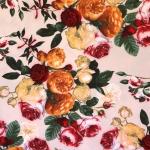 Roosiline, õhuline, veniv kostüümikangas, 150cm, 094-251-6901