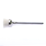 Nailonotstega kausjas hari / Round Nylon Jeweler`s Brush