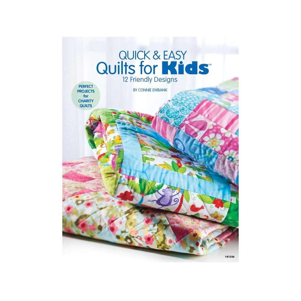 "Raamat ""Quick & Easy Quilts for Kids"""